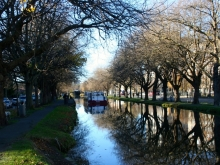 Canal in Dublin