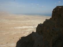 Dead Sea from Masada