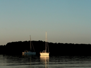 Dawn on the Chesapeake