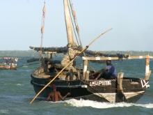 Casting Off in Zanzibar