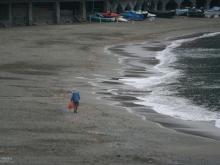 Lonely Beach, Italian Riveria