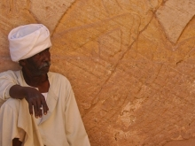 Man at Tomb in Luxor