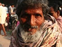 Beggar, Varanasi, India