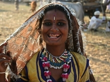 Young Woman, Pushkar Camel Fair