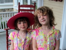 First Cousins, Easter Dresses