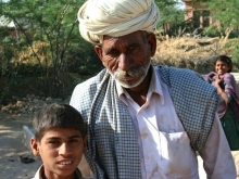 Grandfather and Grandson, Rajasthan