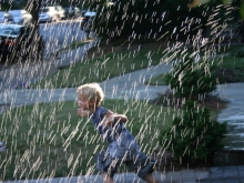 Fun in the Sprinkler